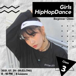Girls  HipHop Dance Class 3