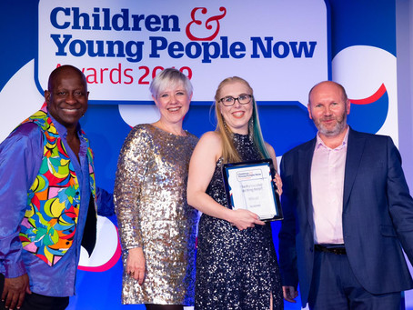 Children & Young People Now Partnership Working Award Winners 2019