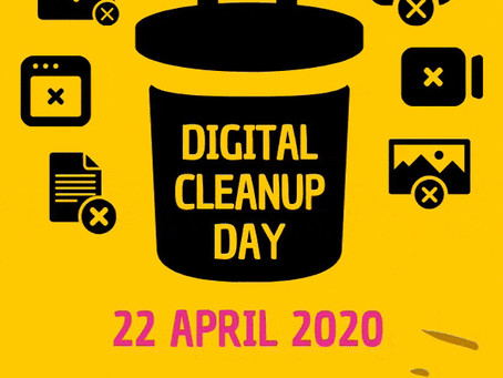 Announcing Digital Cleanup Day