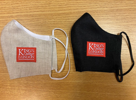 King's College London: 'Face coverings that make a difference'.