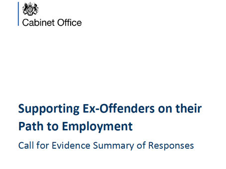 Supporting Offenders on their Path to Employment – Call for Evidence Summary of Responses
