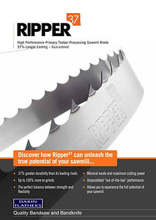 Ripper-37-Sawmill-Band-Saw-Blade Brochure