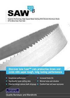 Saw37B-Bimetal-Band-Saw-Blade Product Brochure
