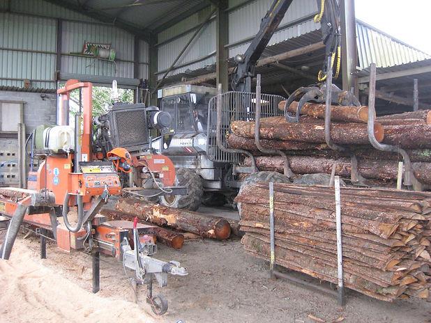 portable sawmill uk