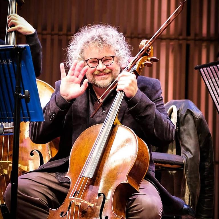 Cello and gambetta all'inglese / Aix-en-Provence