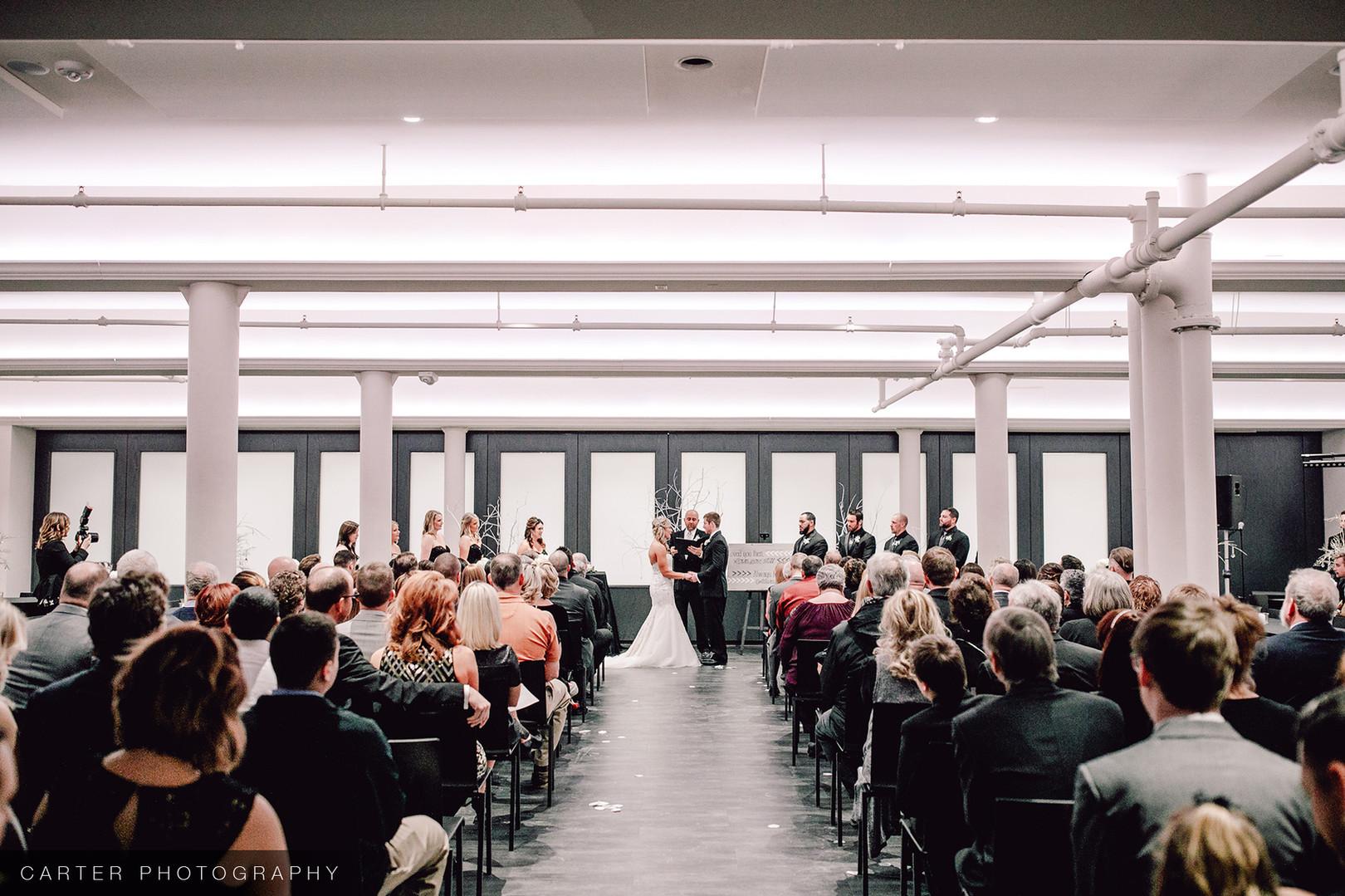 Eastbank Wedding Ceremony Layout