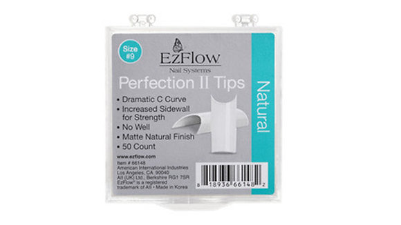 Ez Flow Natural / Crystal Clear Nail Tips