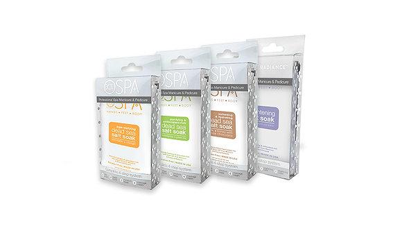 BCL Spa Organic Packette (Soak, Scrub, Mask, Cream)