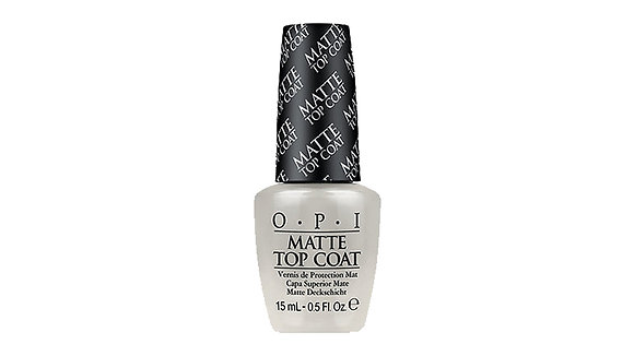 OPI Matte Top Coat - 0.5oz/15ml