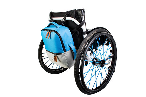 Backrest Bag Short | Blue/Silver