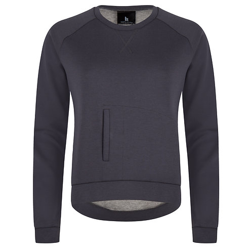 Kangaroo Pullover | Ombre Blue