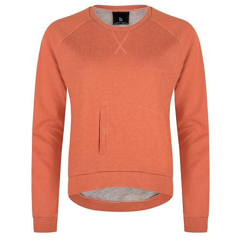 Kangaroo Pullover | Orange