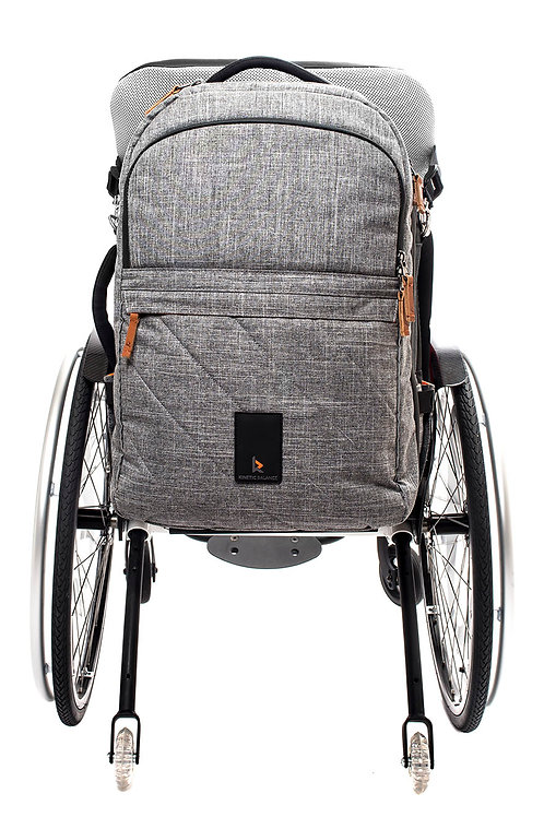 Travel Backpack   Grey Two-tone