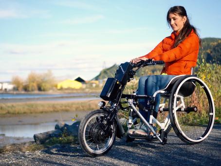 Visste du at Lipo Lomo Drivaggregat passer til de fleste rullestoler?