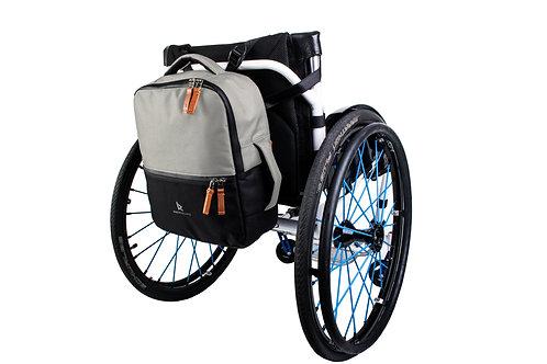 Backrest Bag Short | Silver/Black