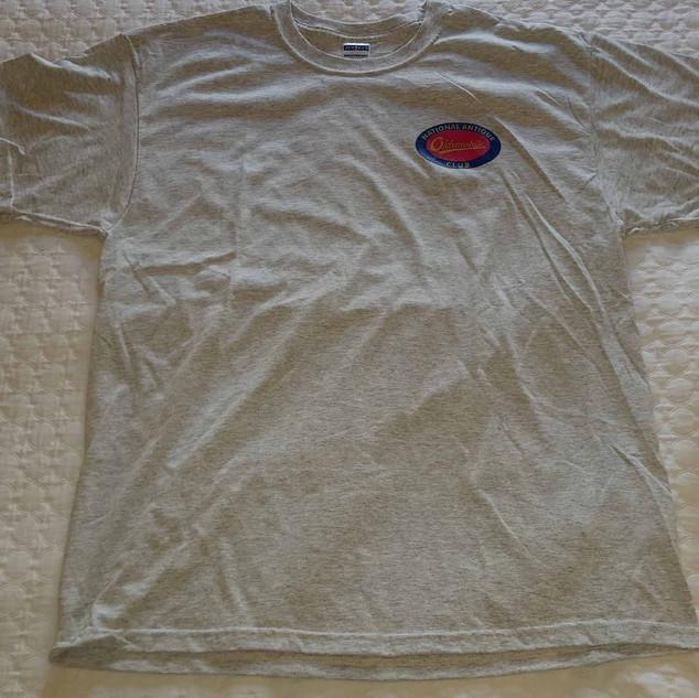 $15.00 - T-Shirts, M, L (XL & 2XL $18.00