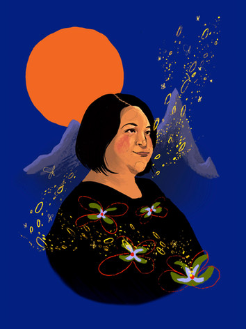 Eden Robinson portrait for Wordfest 2020