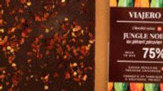 Chocolat noir au piment péruvien