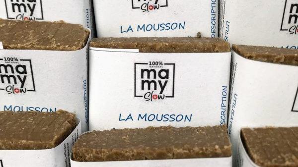 """""""La Mousson"""" pain dermatologique et shampoing solide"""