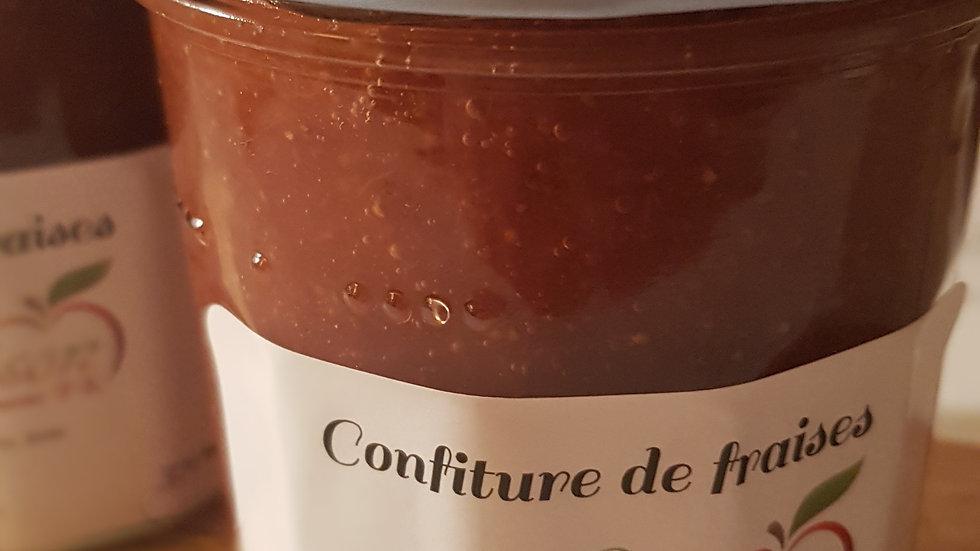 Confiture de fraises CH