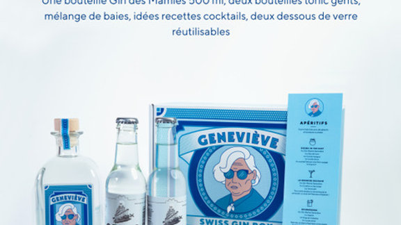 Coffret de Noël Gin des Mamies