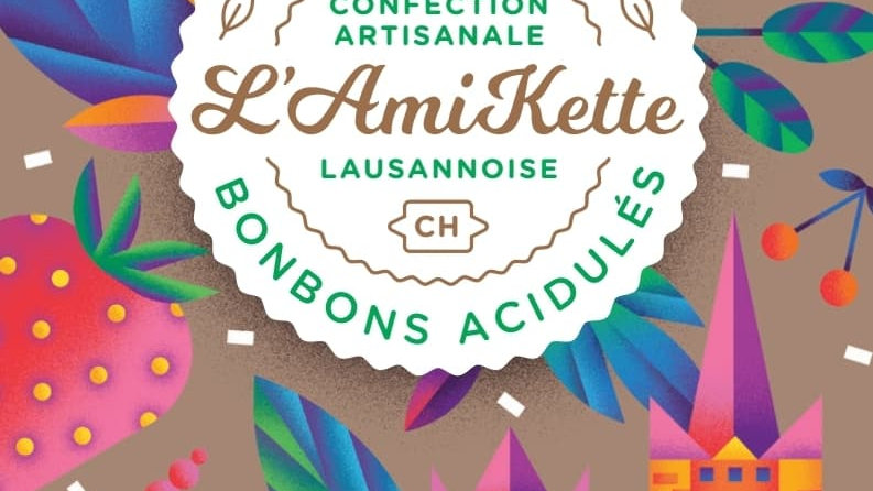 Bonbons acidulés 100% naturel Poire Choco Cannelle 50 gr