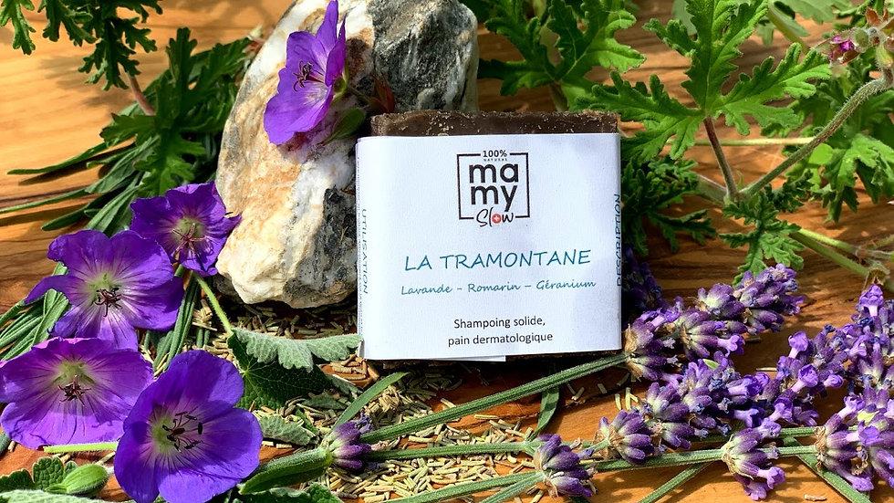 """""""La Tramontane"""" pain dermatologique et shampoing solide"""