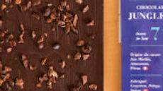 Chocolat noir grué de cacao