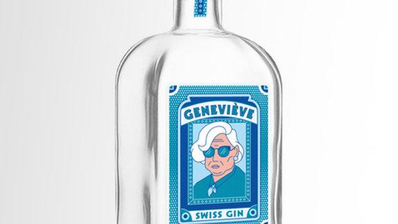 Le Gin Mamie Geneviève 70 cl