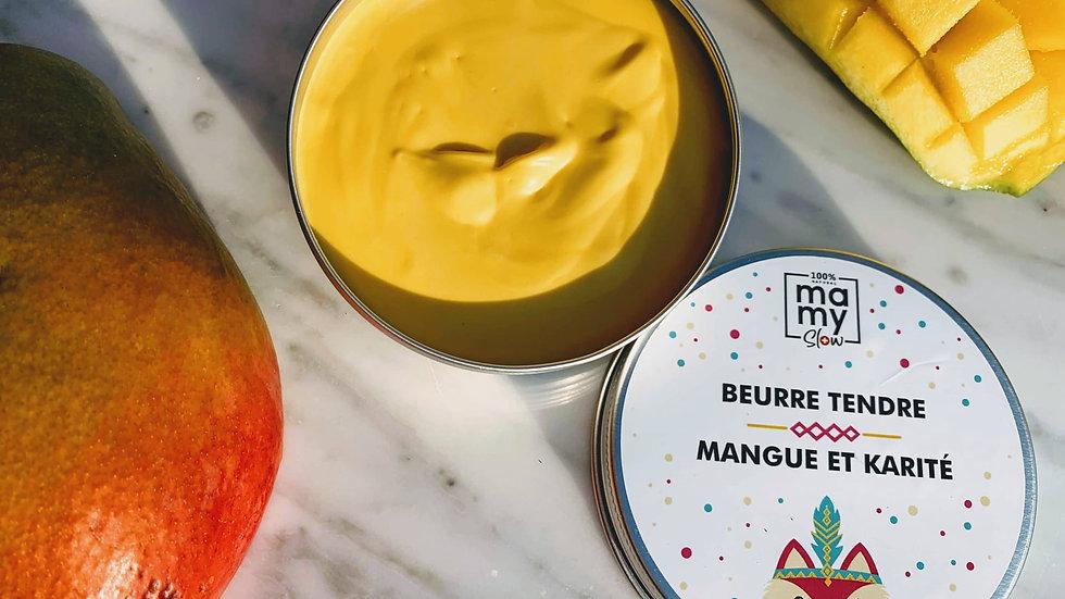 Beurre Tendre Mangue et Karité