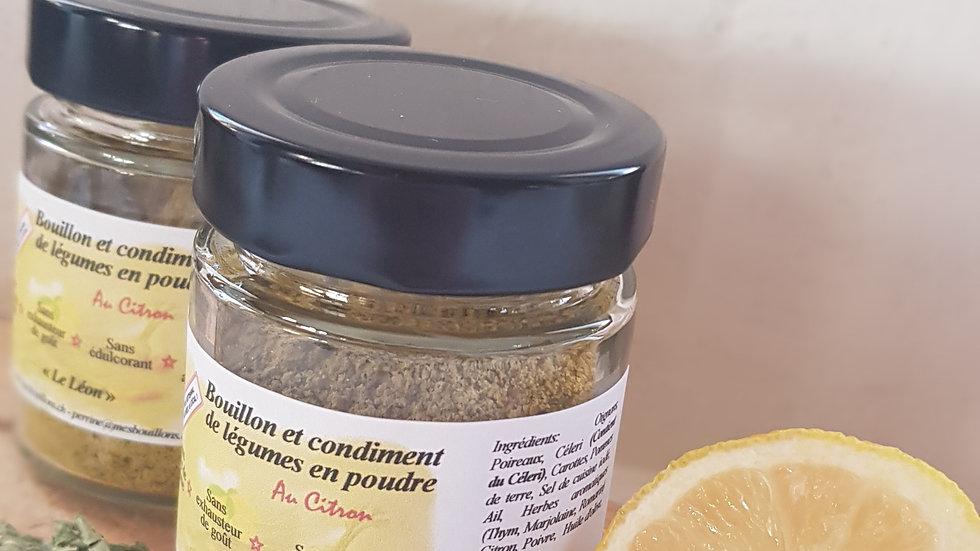 """Bouillon """"Le Léon"""" au citron"""