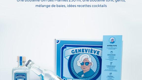 Coffret Dégustation Gin des Mamies