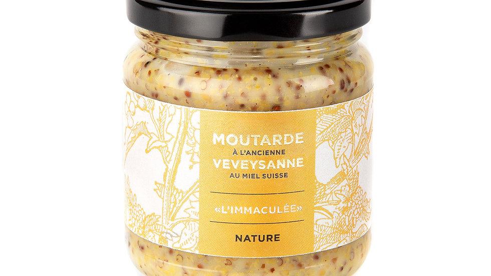 """""""L'immaculée"""" Moutarde à l'ancienne – Nature"""