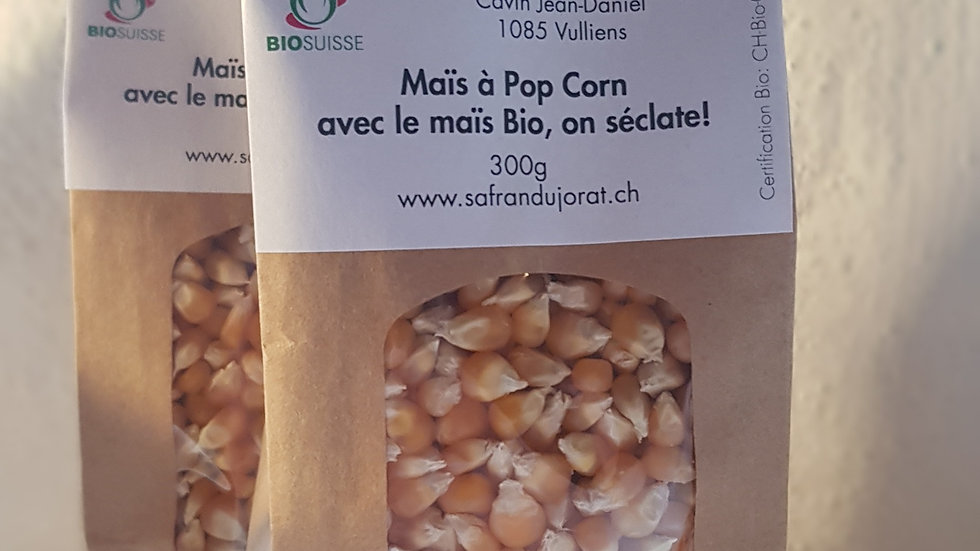 Maïs à Pop Corn Bio 300 gr