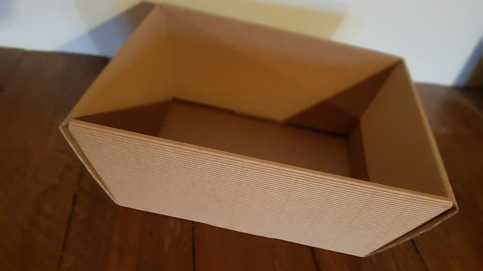 "Corbeille carton  ""La grande"" 40 x 26 x 11 cm"
