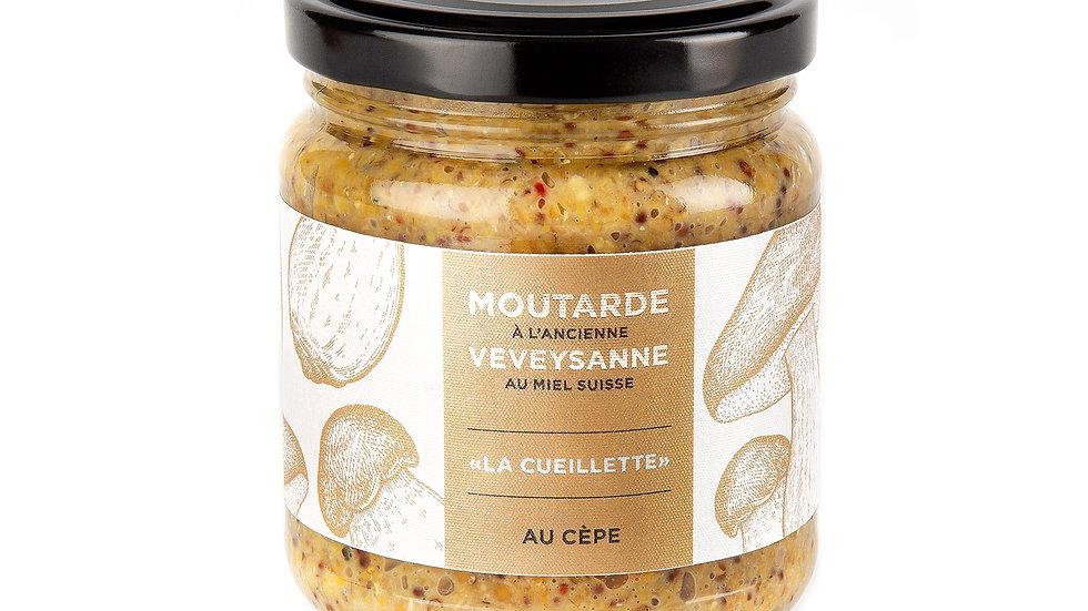 """""""La cueillette"""" Moutarde à l'ancienne – Aux Cèpes"""