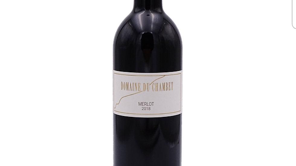 """Domaine du Chambet """"Merlot 2018"""""""
