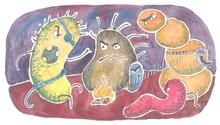 Schädliche Bakterien