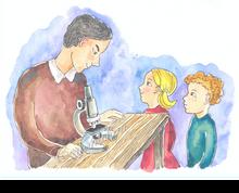 Ein Mikrobiologe