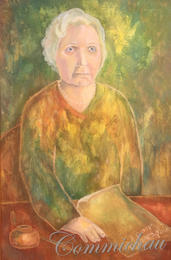 Das Porträt der Schriftstellerin Antarowa