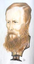 Schriftsteller Fjodor Dostojewski
