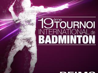 Tournoi international de Badminton de Reims