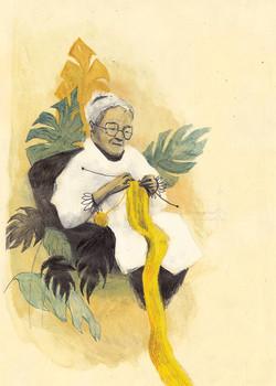 Illustratie voor magazine