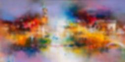 Rainbow in Venice - cm 50x100.jpg
