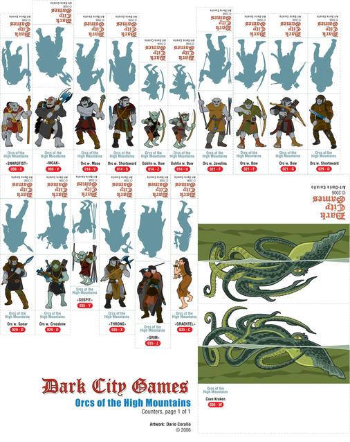 Darios Orcs of the High Mountains