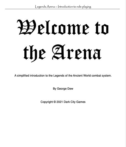 Legends Arena