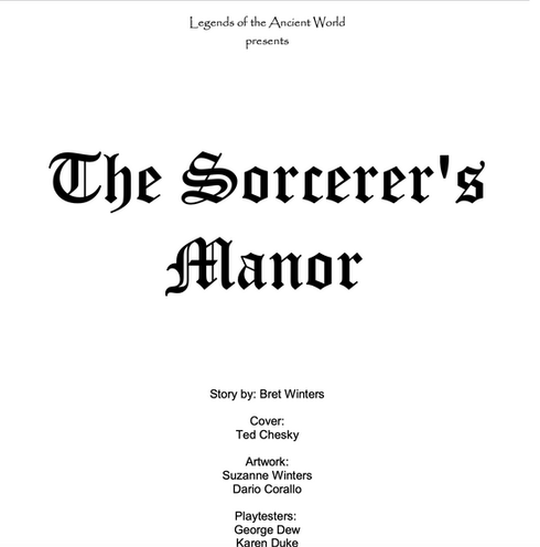 Ther Sorcerer's Manor