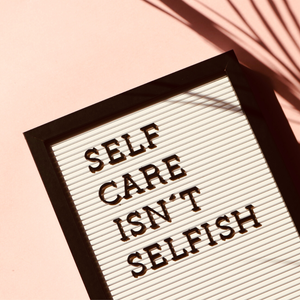 Self Care | We are obliged to take care of our health.