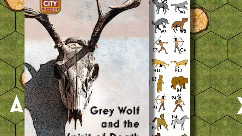 Grey Wolf and the Spirit of Death