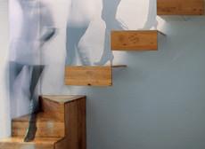 Staircase for a Miniskirt Girl